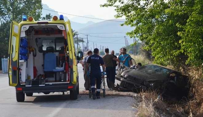 ΑΡΓΟΣ-Εκτροπή αυτοκινήτου σημειώθηκε σήμερα το απόγευμα Παρασκευή 2 Ιουνίου 2017 στην επαρχιακή οδό Ν.Κίου-Άργους. Οδηγός έχασε τον έλεγχο του αυτοκινήτου που είχε κατεύθυνση το Άργος, κάτω από αδιευκρίνιστες συνθήκες, με αποτέλεσμα να τραυματισθεί ο ίδιος και οι δύο συνεπιβάτες του και να μεταφερθούν στο νοσοκομείο. Τα αίτια του ατυχήματος διενεργεί η Τροχαία Άργους.(Eurokinissi-ΠΑΠΑΔΟΠΟΥΛΟΣ ΒΑΣΙΛΗΣ)