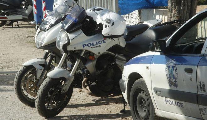 Οχήματα της αστυνομίας