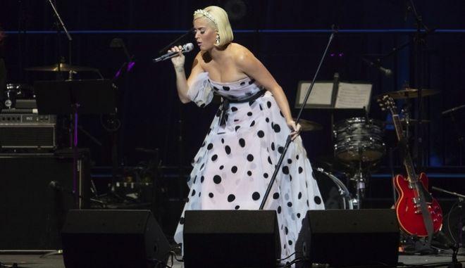 Katy Perry σε συναυλία της 11 Οκτώβρη, 2019