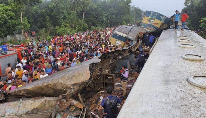 Εικόνα από το δυστύχημα.