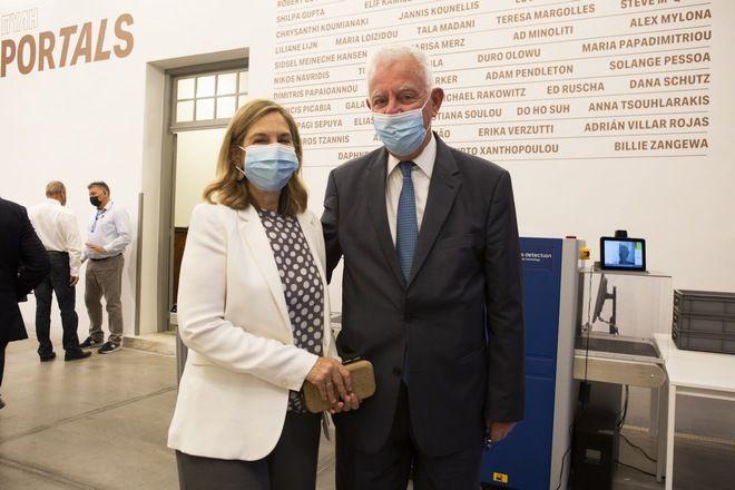 Opening Της Έκθεσης Portals Στο Καπνεργοστάσιο