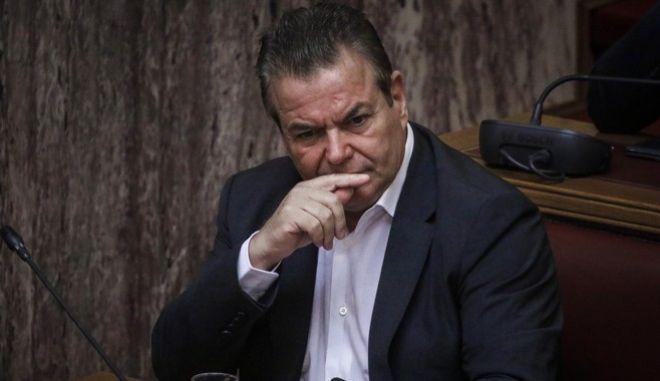 Ο υφυπουργός Εργασίας και Κοινωνικών Ασφαλίσεων, Τάσος Πετρόπουλος