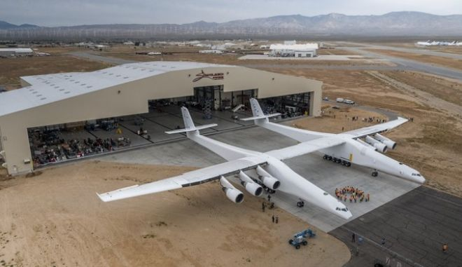 To θηριώδες Stratolaunch