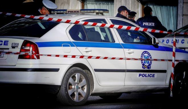 Αστυνομικοί σε μέτρα ασφαλεάις στο κέτρο της Αθήνας για την αναχώρηση του Τούρκου Προέδρου Ρετζέπ Ταγίπ Ερντογάν την Παρασκευή 8 Δεκεμβρίου 2017. (EUROKINISSI/ΓΙΩΡΓΟΣ ΚΟΝΤΑΡΙΝΗΣ)