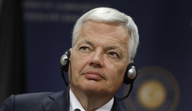 Ο υπουργός Εξωτερικών του Βελγίου.