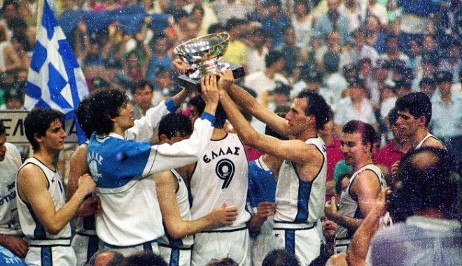 """Ευρωμπάσκετ 87: """"Απόπειρα δωροδοκίας"""" καταγγέλει ο Μαρτσουλιόνις - Η απάντηση Φασούλα"""