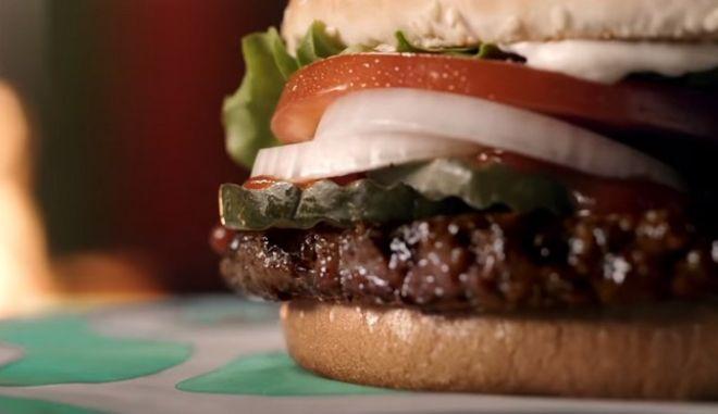 Το μπέργκερ με φυτικό μπιφτέκι των Burger King