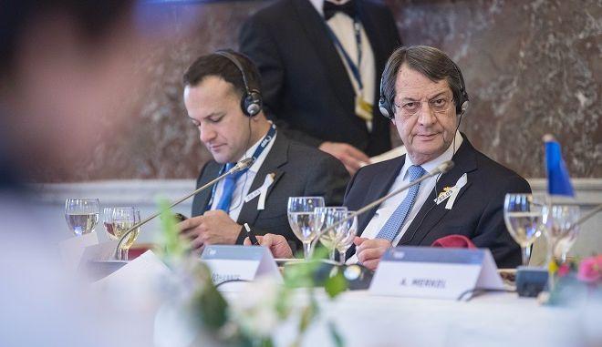 Φωτό αρχείου: Ο πρόεδρος της Κύπρου Νίκος Αναστασιάδης