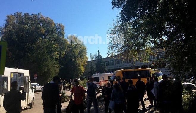 Κριμαία: Έκρηξη σε κολλέγιο - Τουλάχιστον 10 νεκροί, 40 τραυματίες