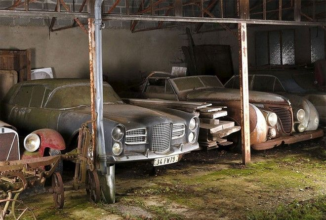 Συλλεκτικά αυτοκίνητα, αξίας 12 εκατομμυρίων, βρέθηκαν στη Γαλλία