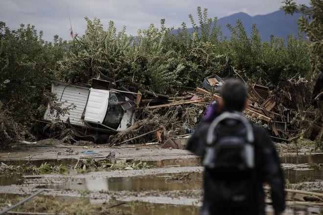 Καταστροφές από τον τυφώνα Χαγκίμπις στην Ιαπωνία