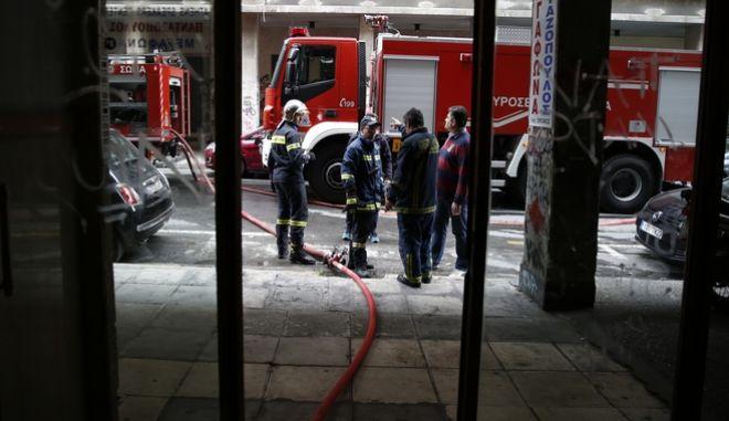 Τραγικό θάνατο βρήκε 98χρονη από φωτιά στο διαμέρισμά της στη Λ. Αλεξάνδρας