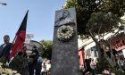 Στιγμιότυπο από την πορεία μνήμης για τα 4 χρόνια από την δολοφονία του Παύλου Φύσσα (Killah p.) στο Κερατσίνι από μέλος της Χρυσής Αυγής.  Δευτέρα 18 Σεπτεμβρίου 2017 (EUROKINISSI//ΤΑΤΙΑΝΑ ΜΠΟΛΑΡΗ)