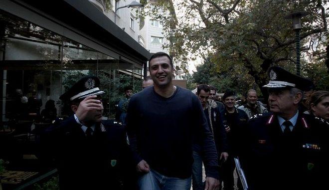 Ministrer for Citizen Protection Vasilis Kikilias inspected Police operation `Thisseas`, at Kipseli area, Athens, on Nov. 11, 2014 /          ``    ',  11 , 2014
