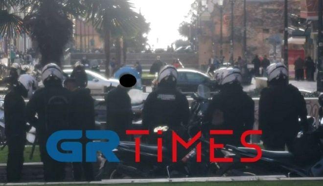Θεσσαλονίκη: Δέκα προσαγωγές αλληλέγγυων του Κουφοντίνα