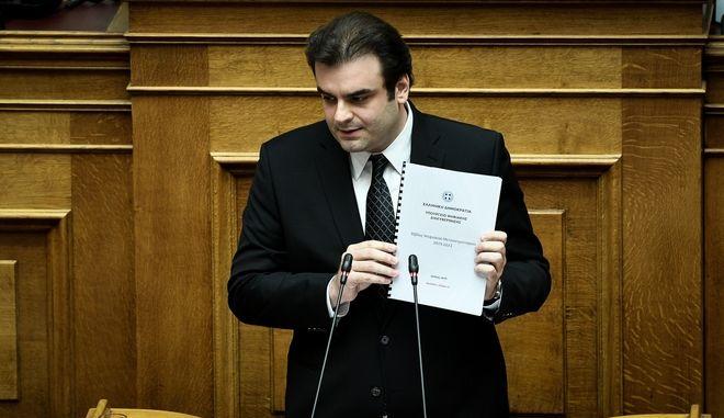 Ο υπουργός Επικρατείας και Ψηφιακής Διακυβέρνησης Κυριάκος Πιερρακάκης