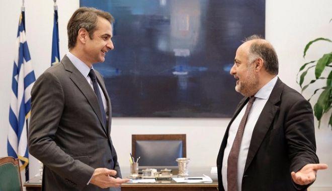 Υποψήφιος με τη ΝΔ ο πρώην εκπρόσωπος του Ποταμιού Δημήτρης Τσιόδρας