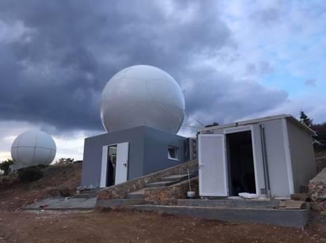 Δορυφορικός Σταθμός EUMETSAT EARS (Αθήνα – Καβούρι)