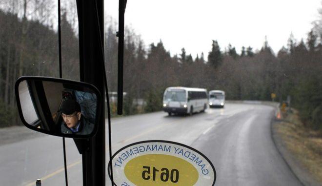 Οδηγός λεωφορείου σε επαρχία του Καναδά