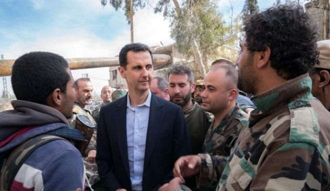 Συρία: Στην Ανατολική Γούτα πήγε ο Άσαντ