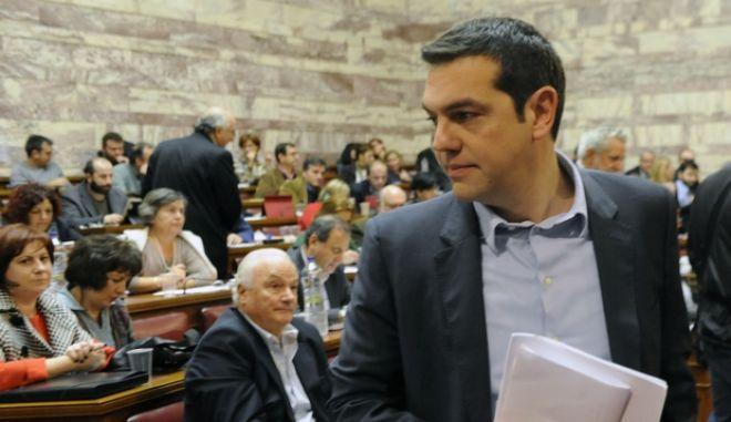 ΑΘΗΝΑ-ΒΟΥΛΗ-Ομιλία Αλέξη Τσίπρα την Κ.Ο. του ΣΥΡΙΖΑ/PHASMA/Γ.ΝΙΚΟΛΑΙΔΗΣ