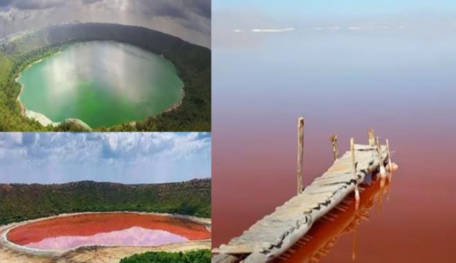 Ροζ Λίμνη στην Ινδία