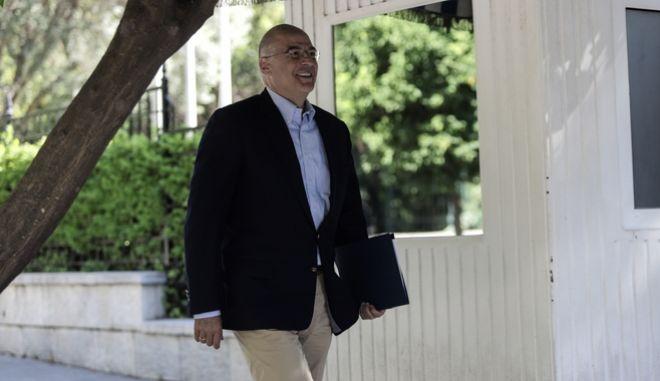 Ο υπουργός Εξωτερικών, Νίκος Δένδιας.