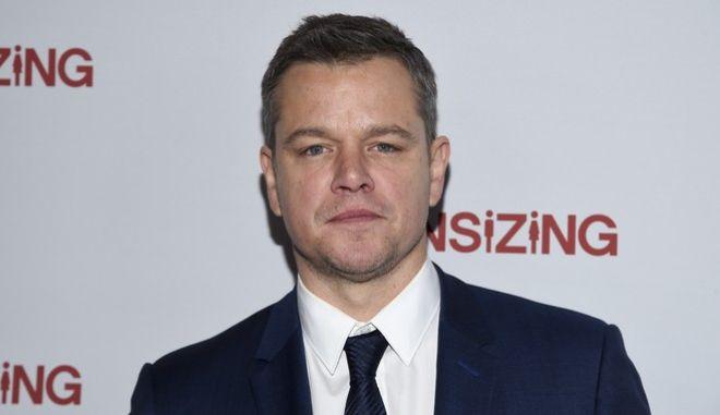 Ο ηθοποιός Matt Damon