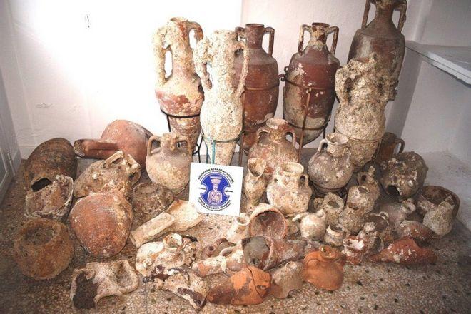 Αρχαιοκάπηλοι στην Κάλυμνο
