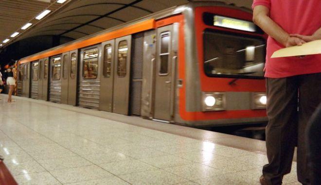 Στάση εργασίας έχουν αύριο οι εργαζόμενοι στο μετρό. EUROKINISSI ΓΙΩΡΓΟΣ ΚΟΝΤΑΡΙΝΗΣ