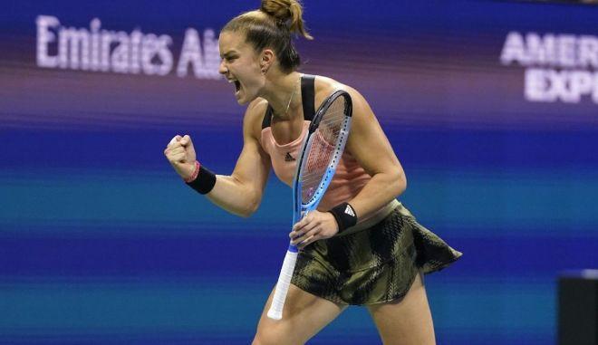 Πλίσκοβα - Σάκκαρη 0-2: Ασταμάτητη η Μαρία, προκρίθηκε στα ημιτελικά του US Open