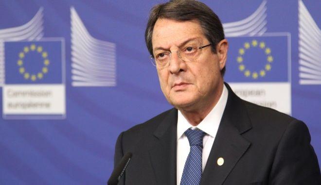 Ο πρόεδρος της Κύπρου Νίκος Αναστασιάδης