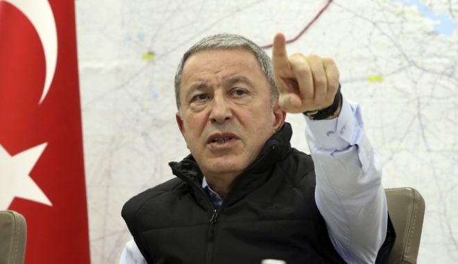 Ο Τούρκος υπουργός Άμυνας, Χουλουσι Ακάρ