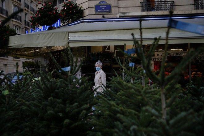 Χριστούγεννα με covid-19 στη Γαλλία