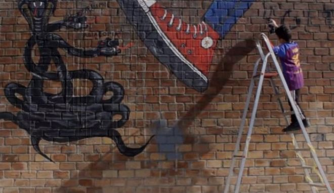 Ο Τοίχος: Μια ταινία μικρού μήκους για το ρατσισμό και τον φασισμό από τους μαθητές του Δημοτικού Γενναδίου
