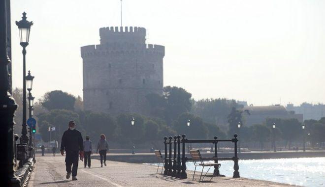 Η Θεσσαλονίκη εν μέσω lockdown