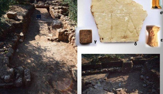 Η αρχαία Τενέα στο Χιλιομόδι Κορινθίας