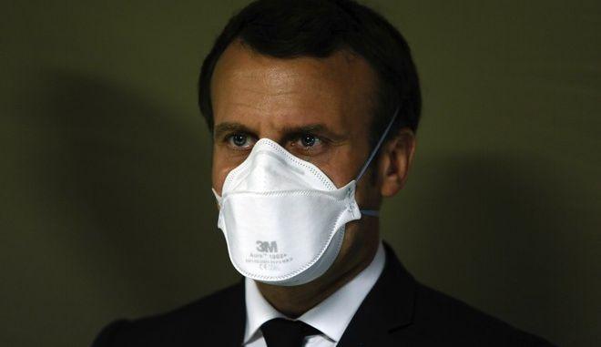 Ο πρόεδρος της Γαλλίας, Εμανουέλ Μακρόν
