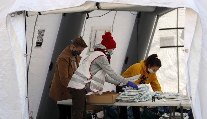 Εθελοντές στη Τσεχία