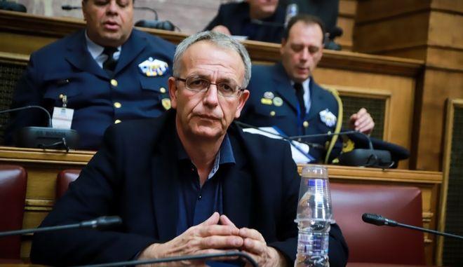 Ο αναπληρωτής υπουργός Εθνικής Άμυνας Π. Ρήγας