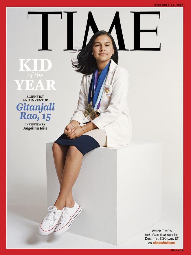 ΤΙΜΕ: 15χρονη επιστήμονας το