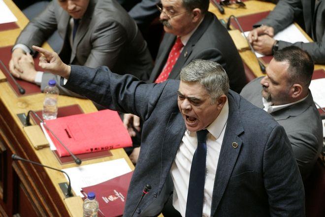 Ο Αρχηγός της Χ.Α, Νίκος Μιχαλολιάκος