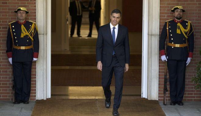 Ο νέος πρωθυπουργός της Ισπανίας Πέδρο Σάντσεθ