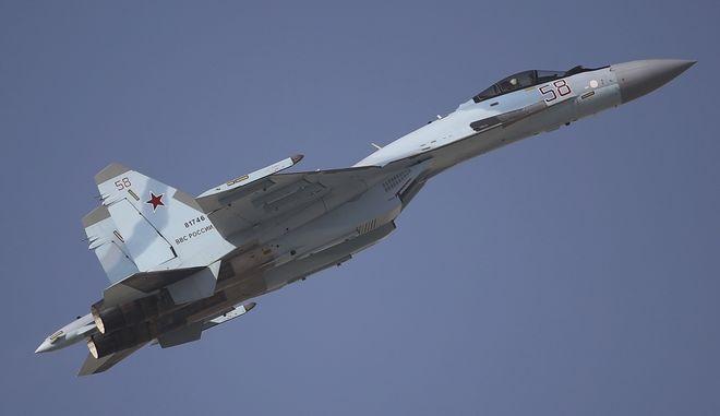 Ρωσικό μαχητικό Sukhoi SU-35