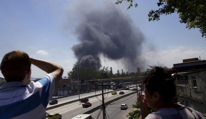 Μεγάλη φωτιά στη Βραζιλία
