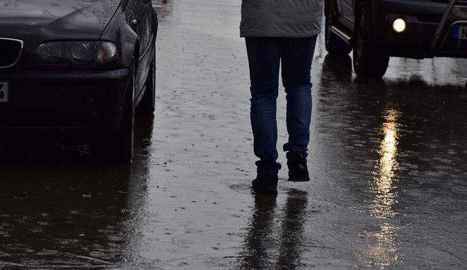 Βροχή στο Ναύπλιο