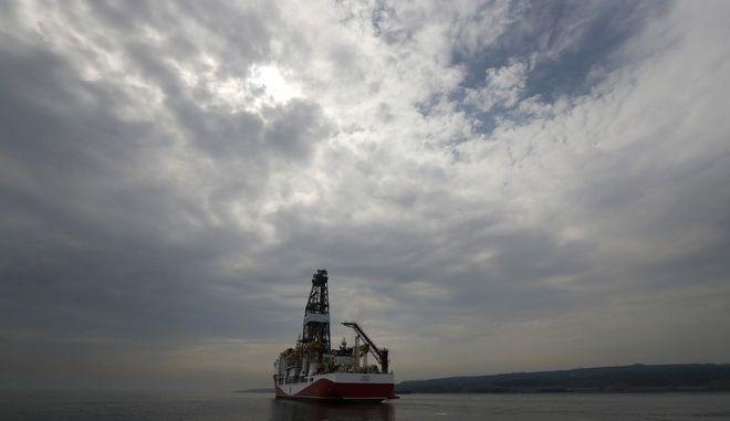 Το τουρκικό πλοίο γεωτρύπανο Γιαβούζ