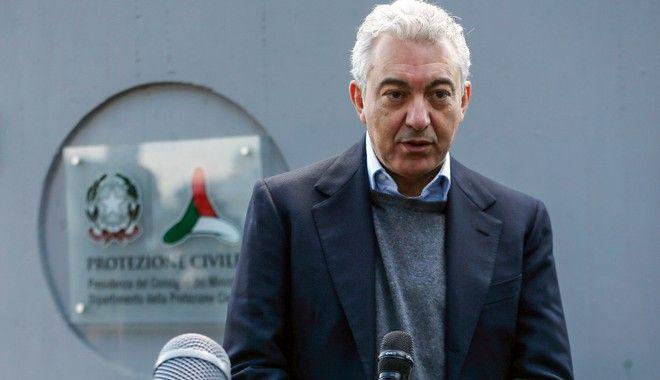 Ο ειδικός επίτροπος που διόρισε η ιταλική κυβέρνηση για την κατάσταση έκτακτης ανάγκης, Ντομένικο Αρκούρι
