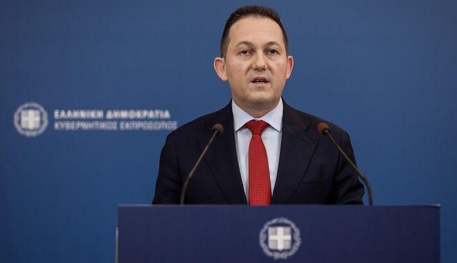 Ο κυβερνητικός εκπρόσωποςΣτέλιος Πέτσας
