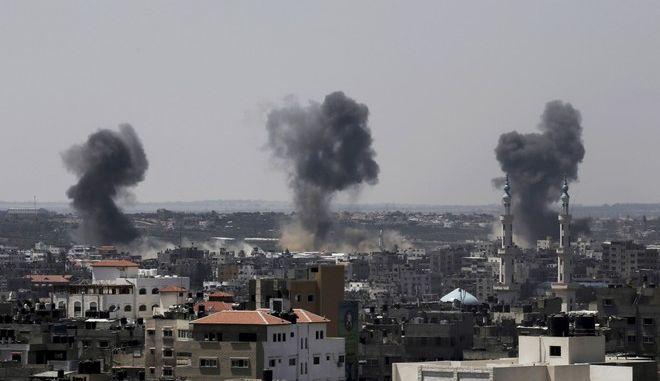 Βομβαρδισμοί στη Λωρίδα της Γάζας (Φωτογραφία αρχείου)